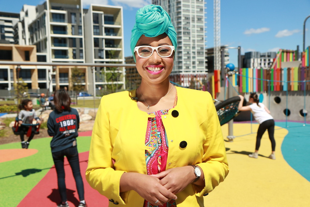Australia Wide presenter Yassmin Abdel-Magied