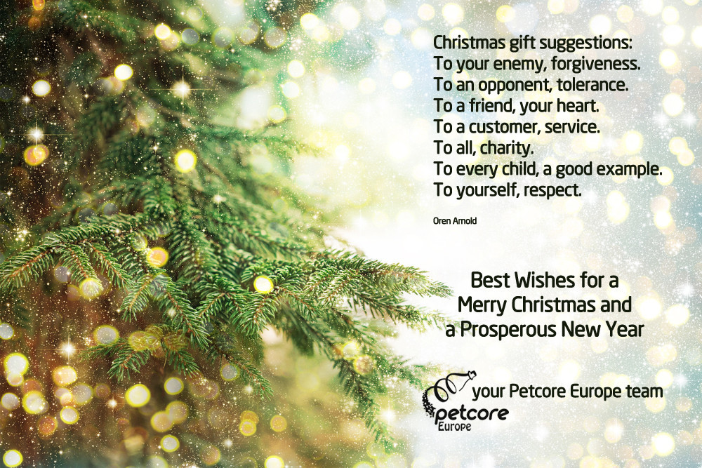 Your Christmas Card from Petcore Europe