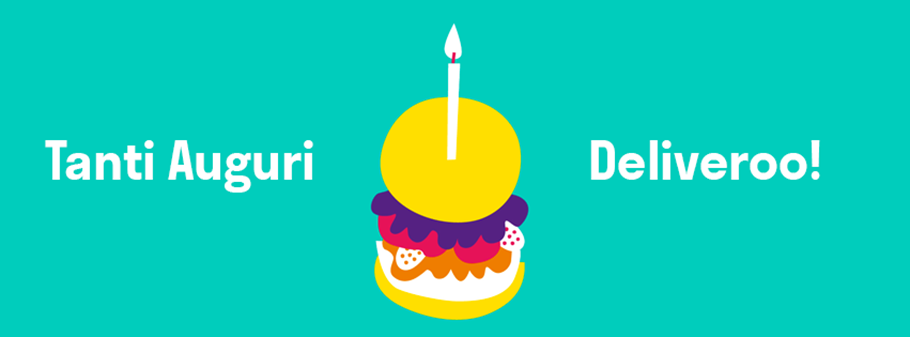 Un anno di Deliveroo in Italia!