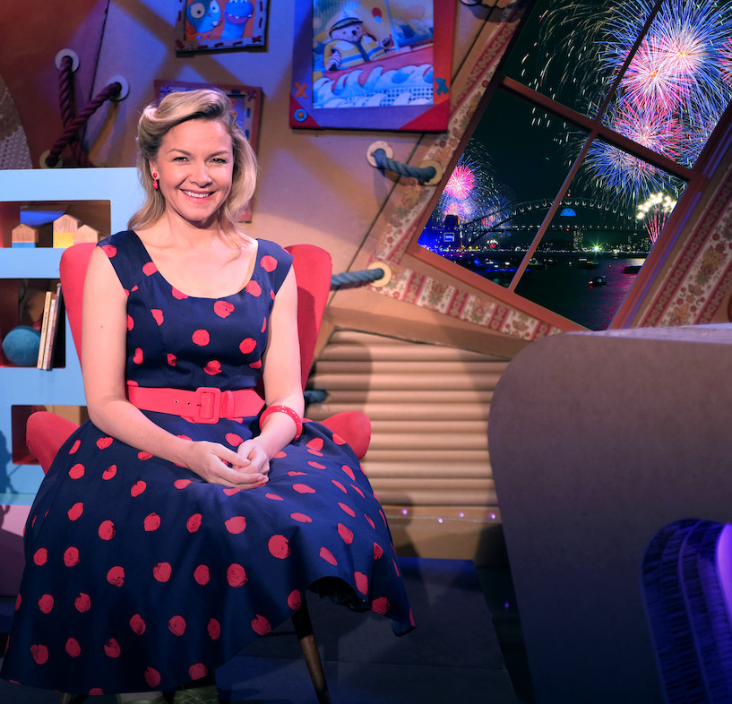 Join Justine Clarke this New Year's Eve on ABC