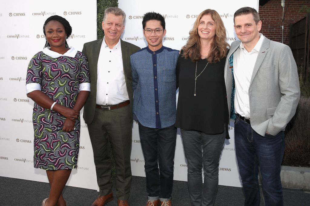 Chioma Ukonu (RECYCLE POINTS), Álvaro Vásquez (BIOESTIBAS), Peetachai Dejkraisak (SIAM ORGANIC), Son Preminger (INTENDU), James Steere (I DROP WATER)