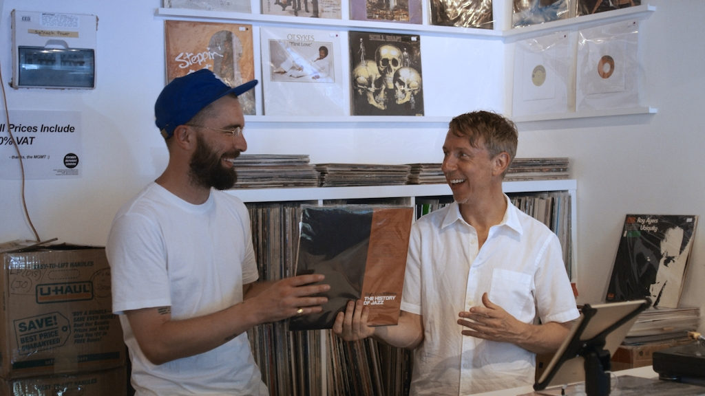 Lefto - In Transit: Lefto en Gilles Peterson in Londen - (c) Caviar