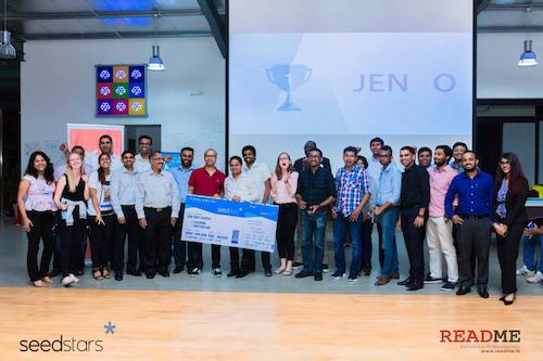 Preview: Jendo Named Sri Lanka's Most Promising Tech Startup at Seedstars Colombo