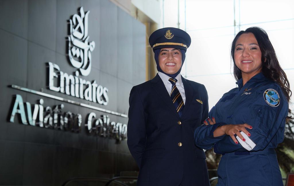 Watch: Afghan lady pilot test drives Emirates' Boeing 777 (https://cdn.prezly.com/35/37e1606d2d11e795e32b9fef0c2634/Bakhita-Al--Muheiri-and-Shaesta-Waiz-at-the-sim-challenge-hosted-by-Emirates.jpg)