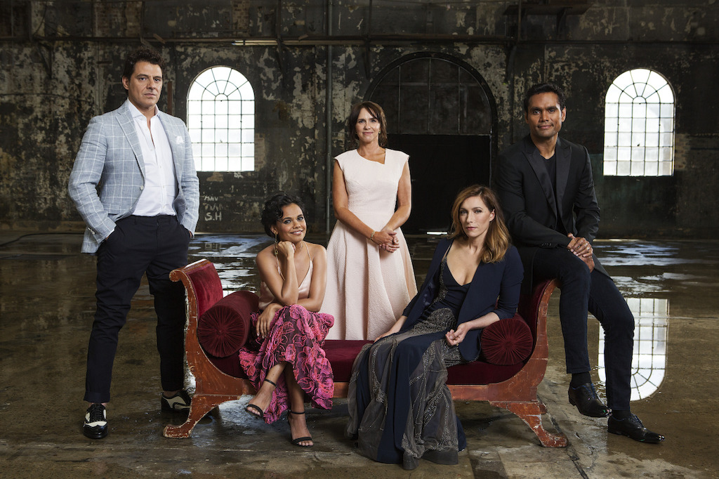 Vince Colosimo, Miranda Tapsell, Tasma Walton, Claudia Karvan and Rob Collins star in ABC TV dramas during 2017 (photo credit: Lisa Tomasetti)