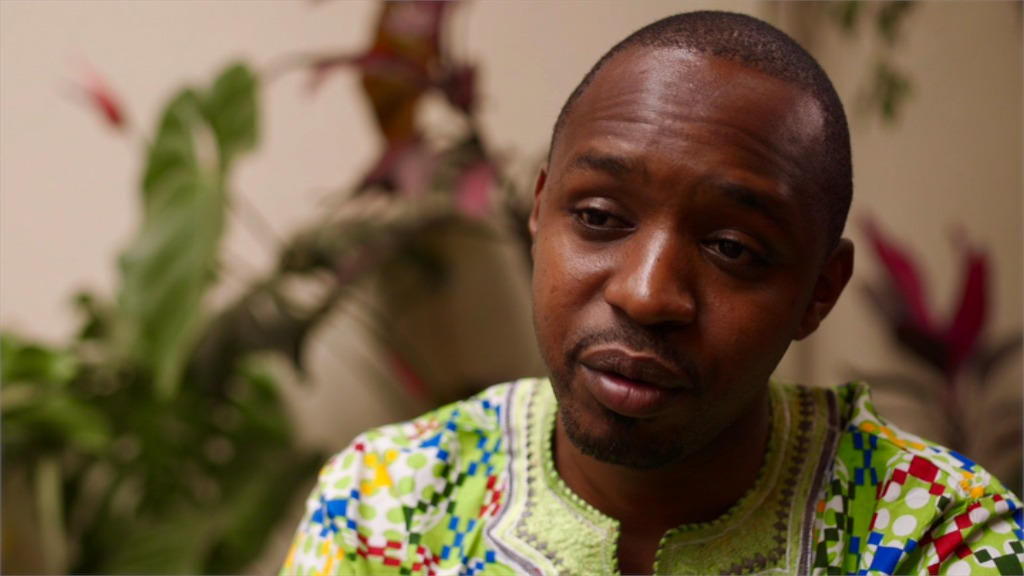 Boniface Mwangi - ABC's Foreign Correspondent (photo credit: Cathy Scott)