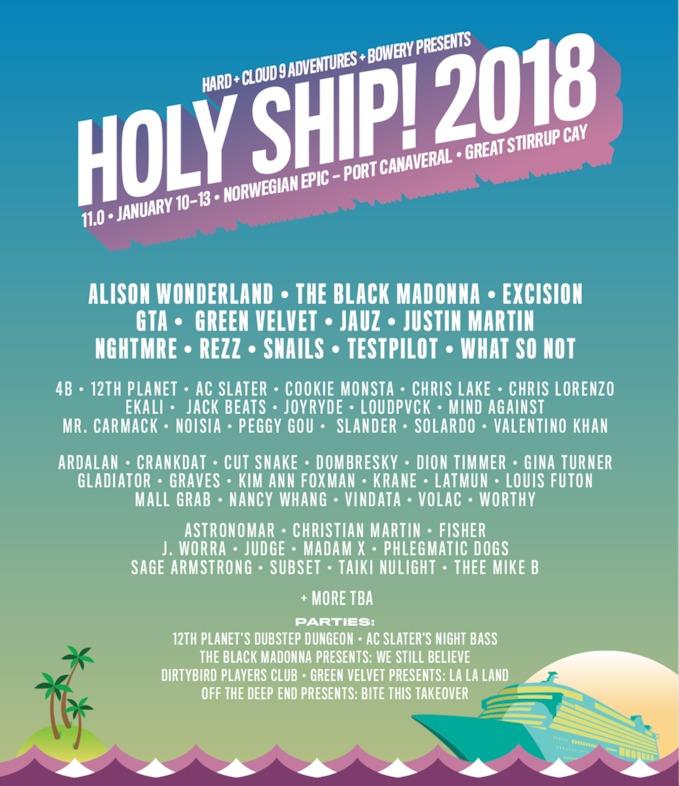 Holy Ship 11