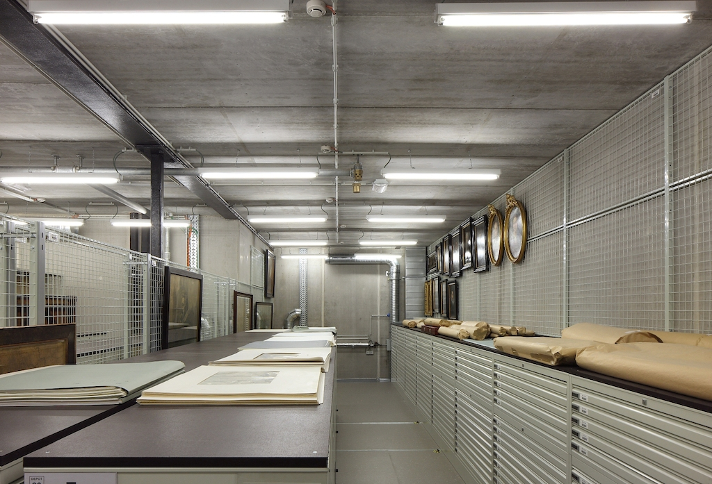 New storage room,  Plantin-Moretus, photo: Filip Dujardin