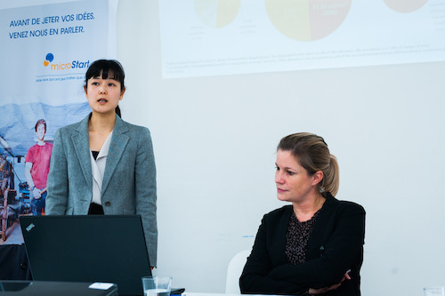 Kana Hayashida (MBA Vlerick Business School) & Veroniek Collewaert (Professeur d'entrepreunariat, Vlerick Business School)