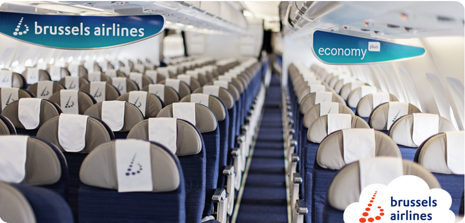 Brussels Airlines chooses Economy Plus