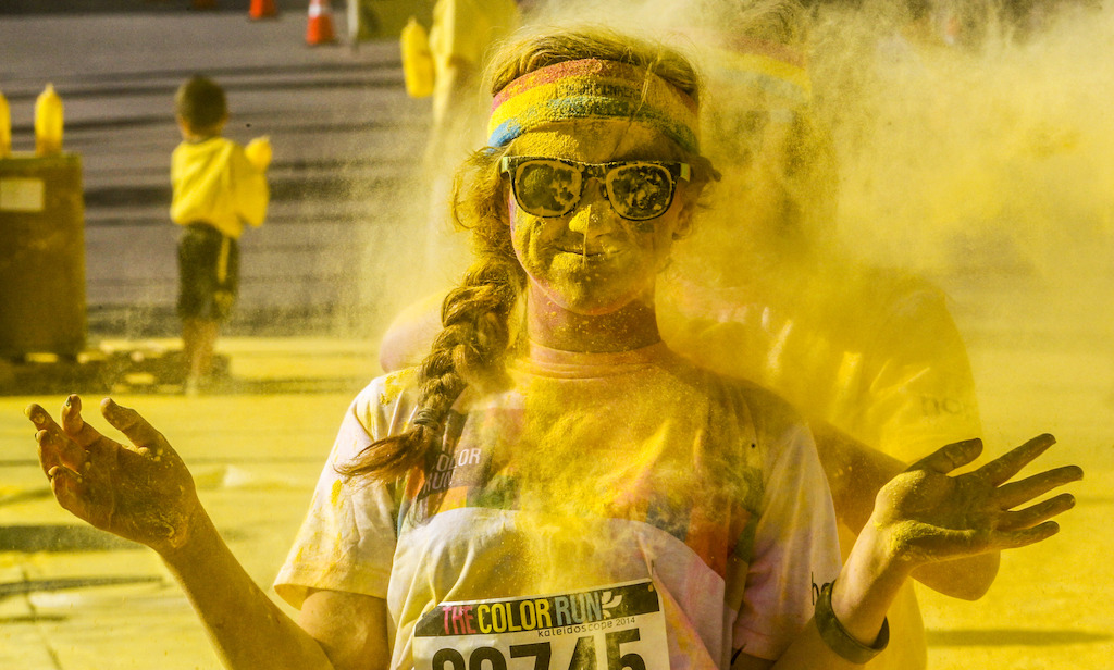 Color Run in Oostende