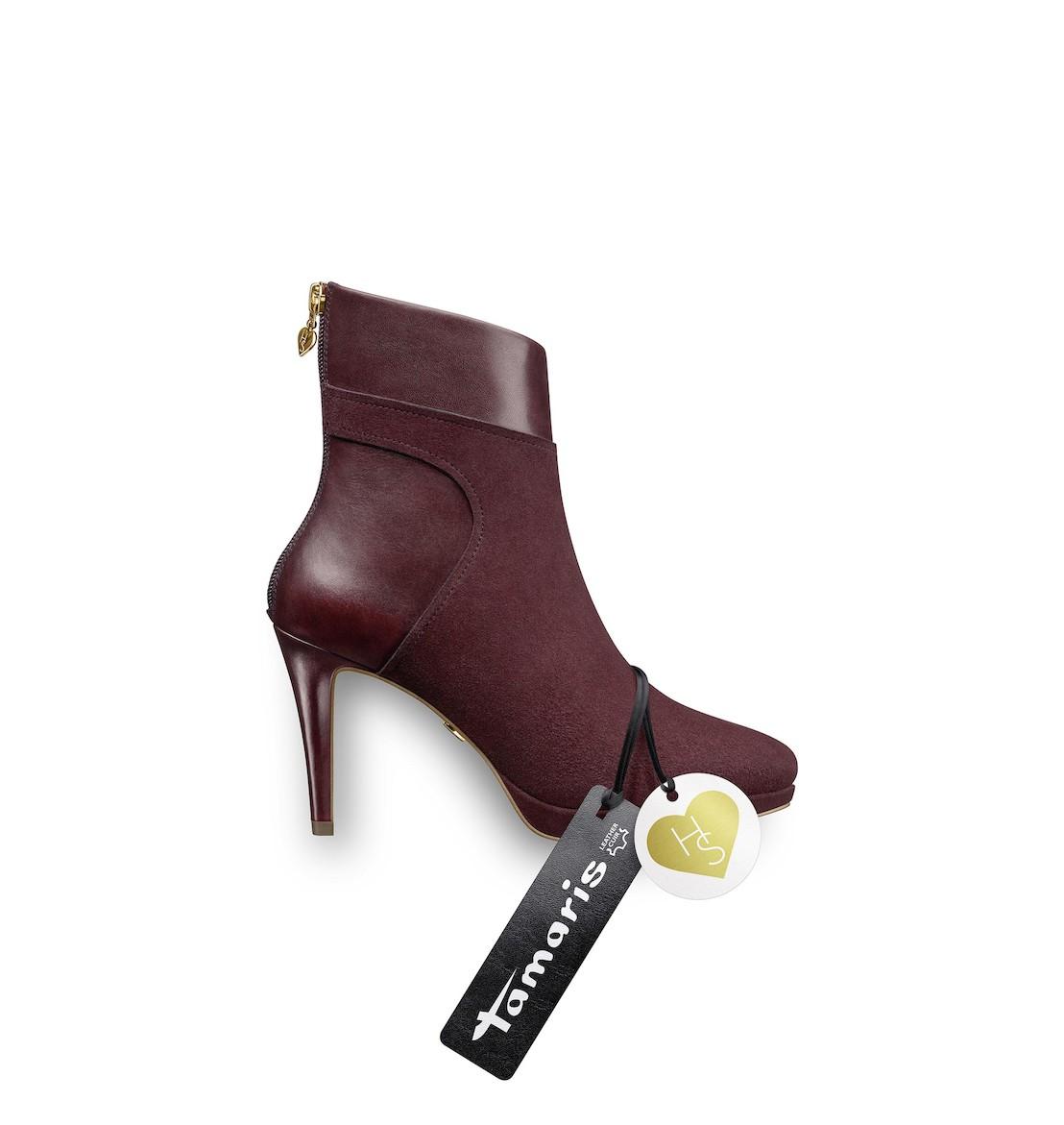 tamaris x heart sole fw17 revolutionising walking on heels. Black Bedroom Furniture Sets. Home Design Ideas