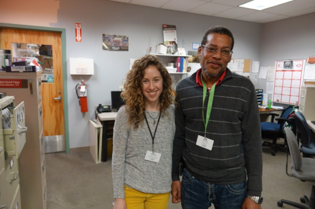 HANNAH BRILLING, CO-OP NUTRITIONIST, AND DOREN HALL, LEBANON STORE MANAGER
