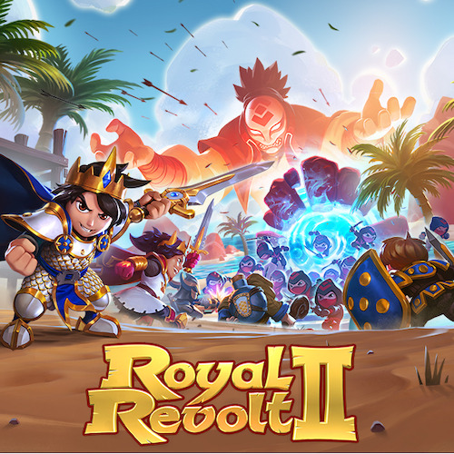 Royal Revolt 2 receives its biggest ever game update including ninjas, tropical islands and an evil Villain!