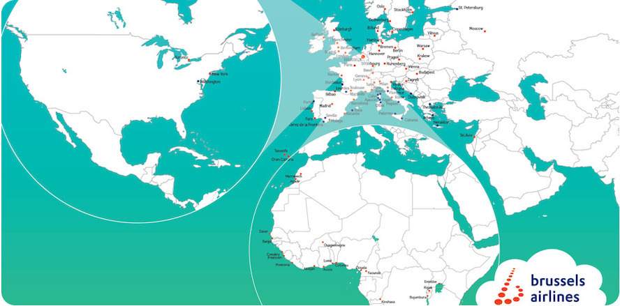 Brussels Airlines kicks off the summer season with 9 new destinations