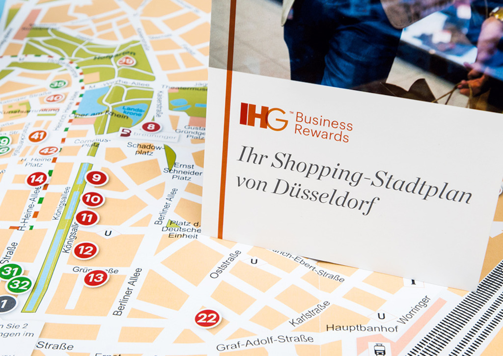 Personal Shopping map Düsseldorf