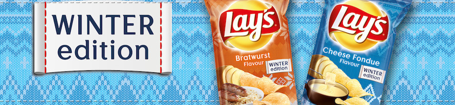 Warm, wollig chipsplezier met de Lay's Winter Editions