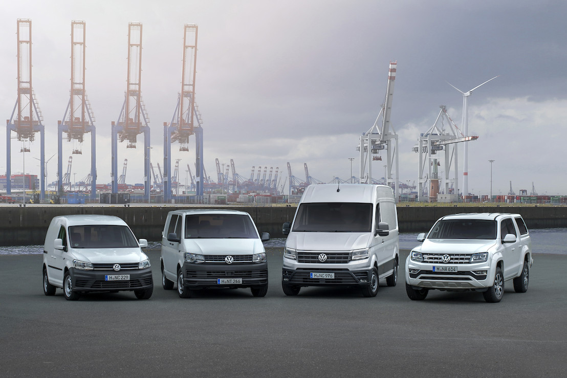 Volkswagen Commercial Vehicles increases worldwide LCV-deliveries by 5.0 per cent