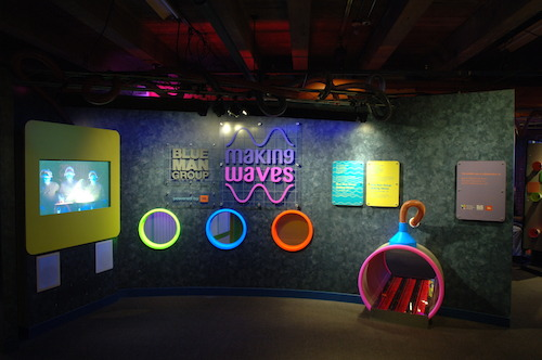 Children's Museum of Atlanta and Blue Man Group Making Waves
