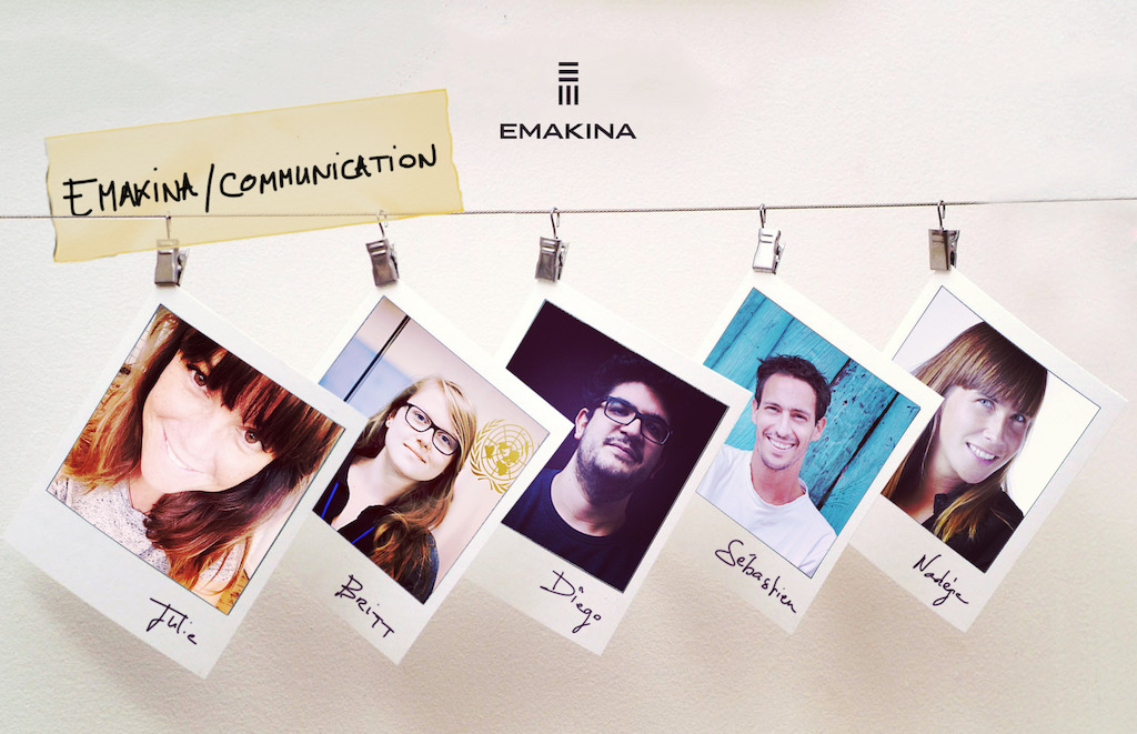 5 New Talents at Emakina / Communication