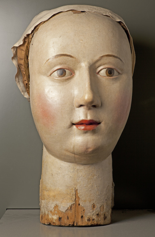 Head of the giantess Megera, Leuven (?), 17th century (?) © M - Museum Leuven, foto Paul Laes