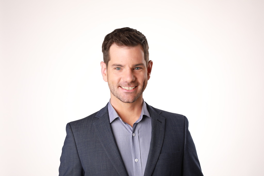 ABC News Breakfast's new Weather Presenter, Nate Byrne