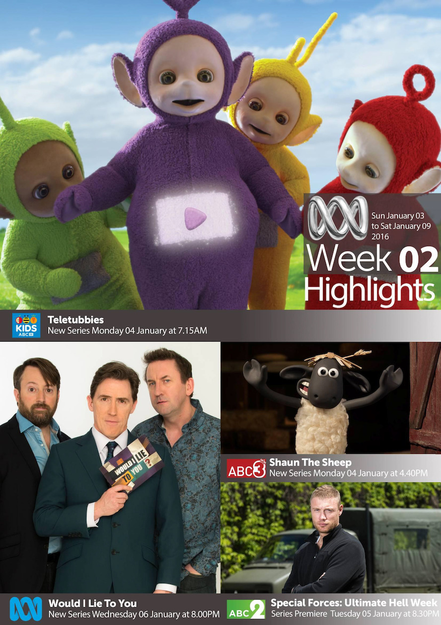 ABC TV Highlights - Week 2