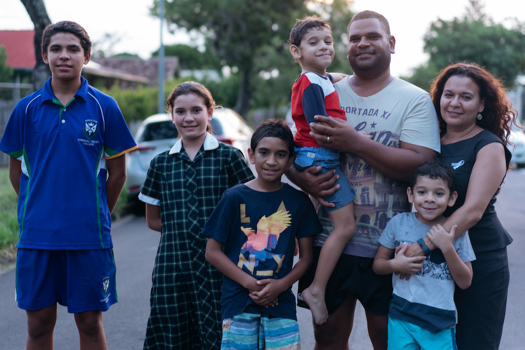 The Bond family - Inala, Queensland - Foreign Correspondent, photo credit Tim Leslie