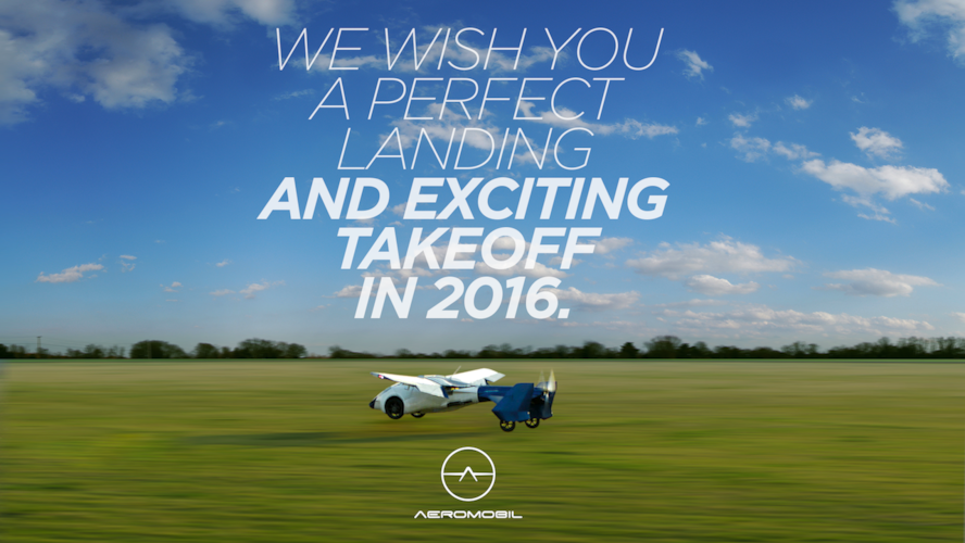 AeroMobil leaves behind a successful year