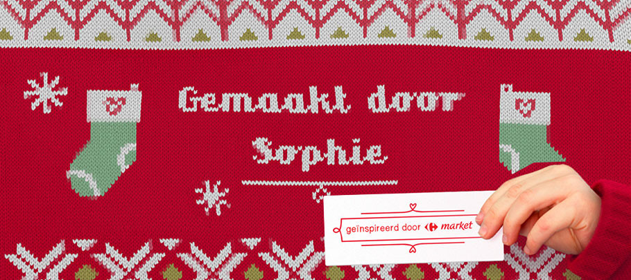 Prophets creates animated Christmas jumper for Carrefour market