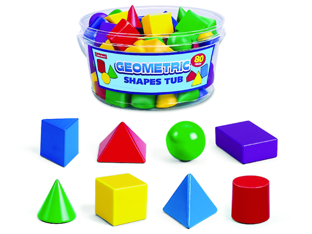 Geometric shape blocks