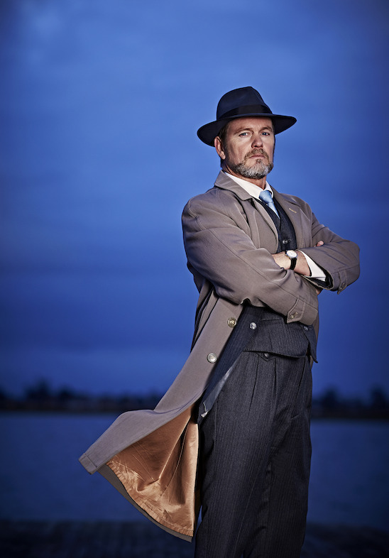 Craig McLachlan in The Doctor Blake Mysteries