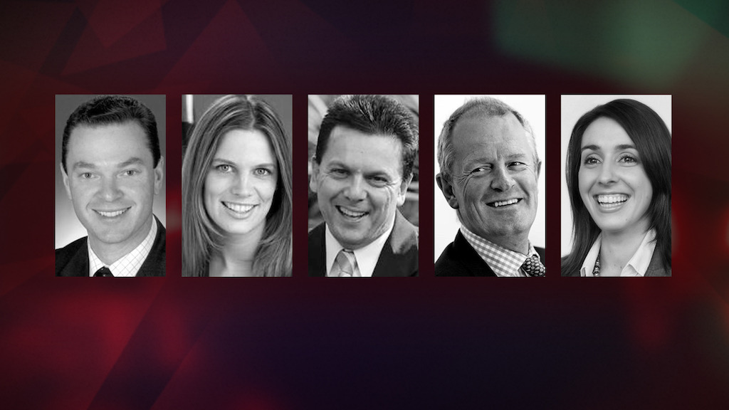 Christopher Pyne, Kate Ellis, Nick Xenophon, Ian Smith & Holly Ransom