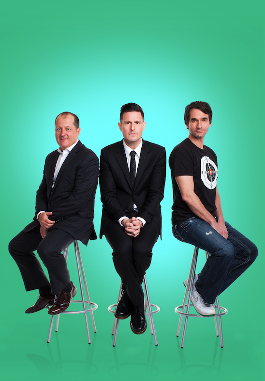 Gruen with Russel Howcroft, Wil Anderson and Todd Sampson