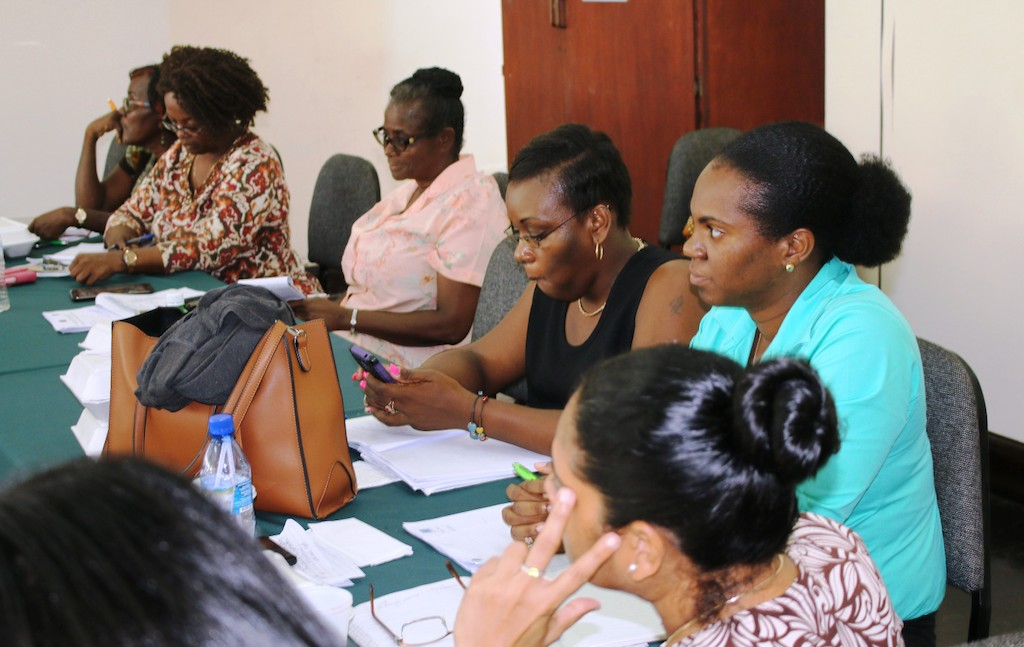 Participants at Grenada Training.