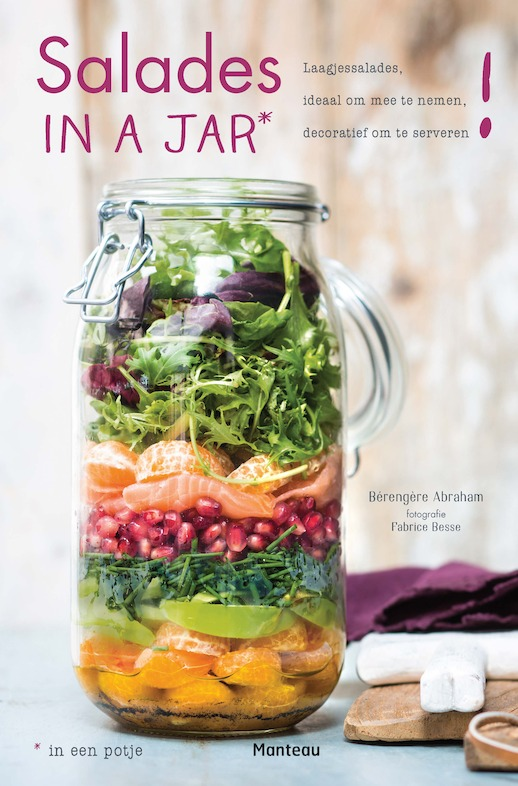 Cover 'Salades in a jar'