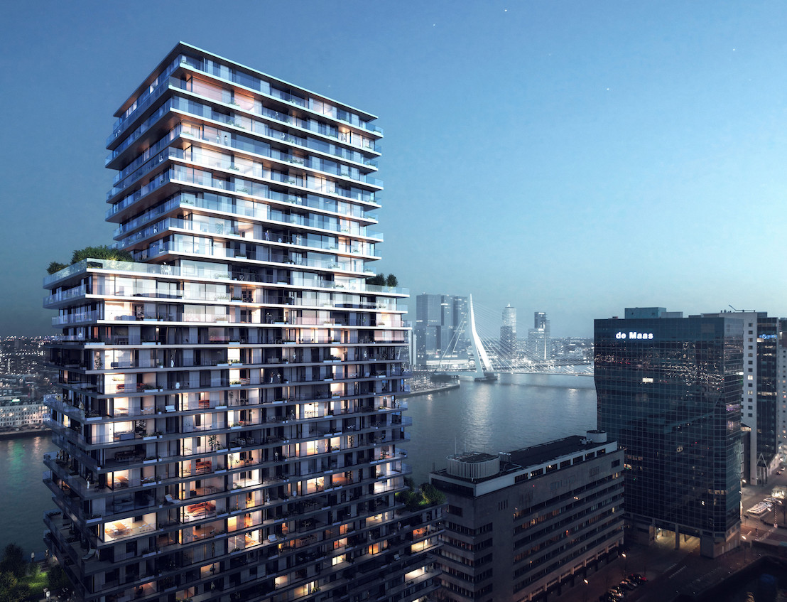BESIX continues to shape the Rotterdam skyline