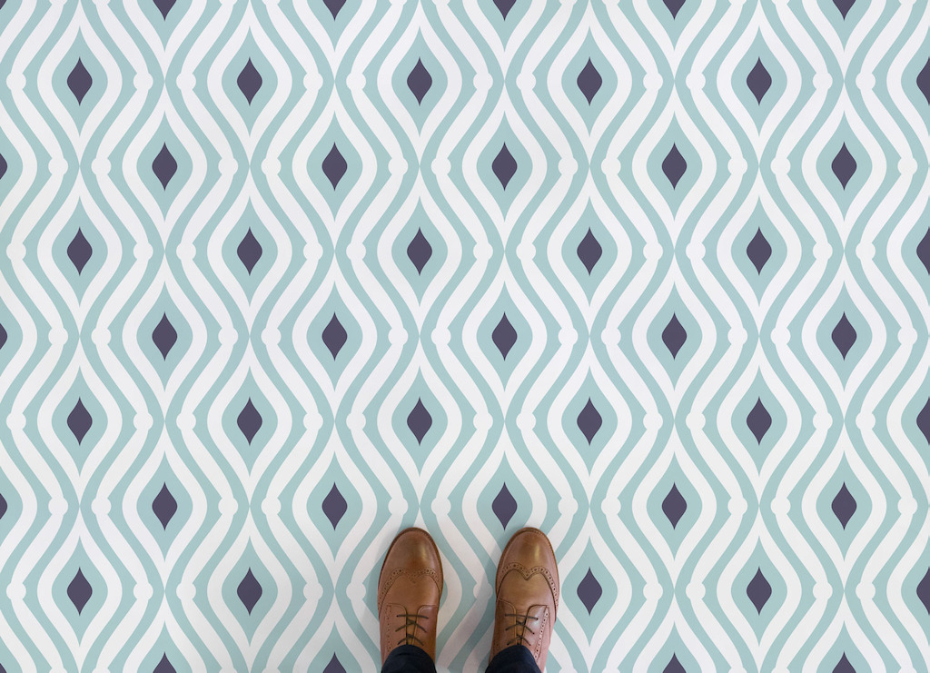 Wave | <br/>Teardrop Pattern Flooring