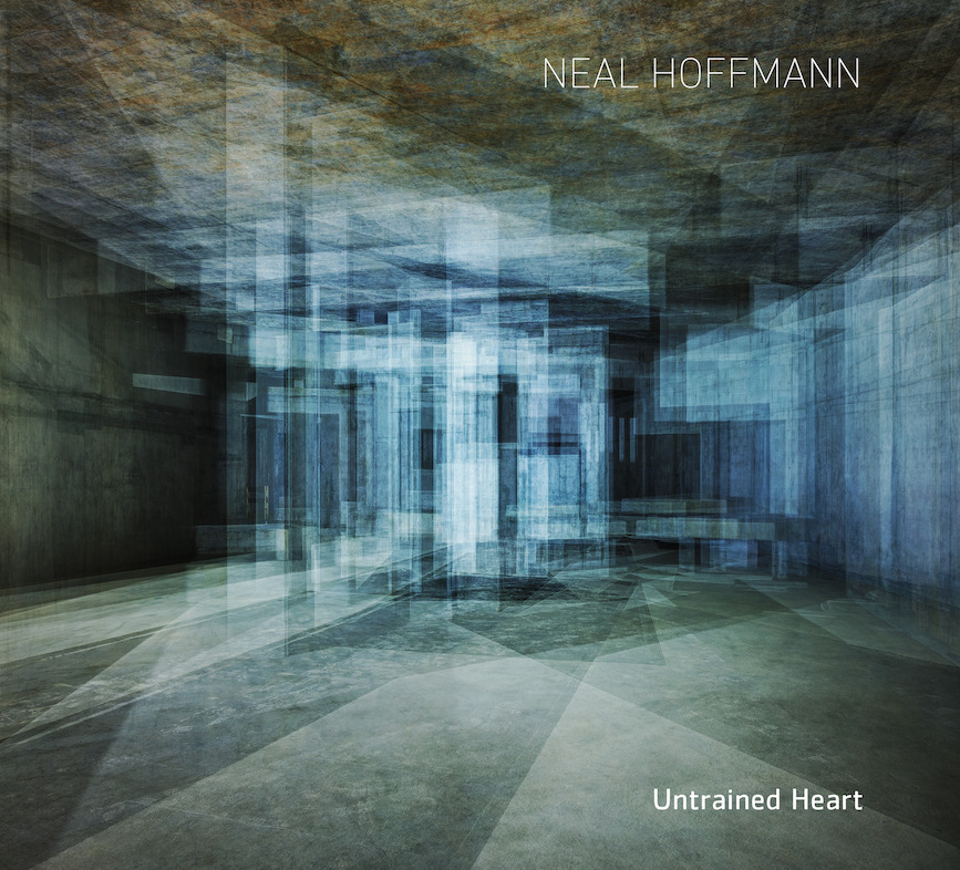 Neal Hoffmann - Untrained Heart album cover (smaller file-size)