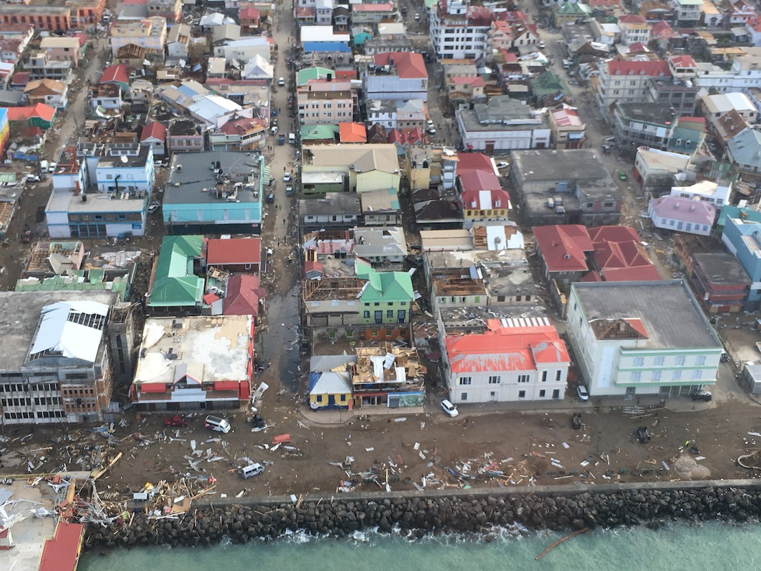 UK-based International Non-Profit Organization Provides Support to Hurricane Affected Islands