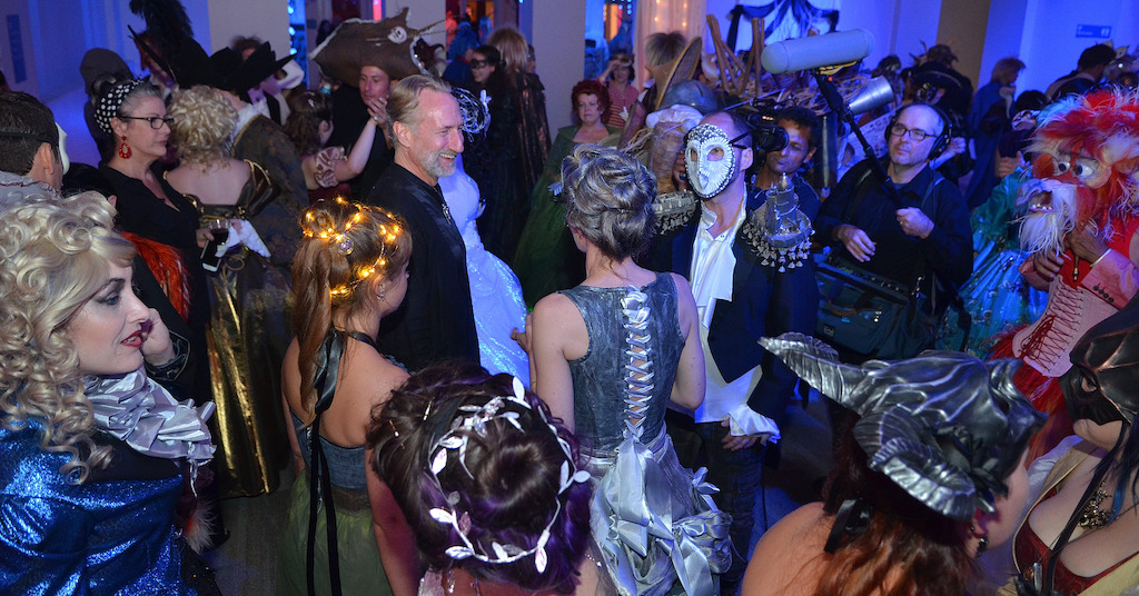 Labyrinth Masquerade Ball (Photo by Chris Hunt)