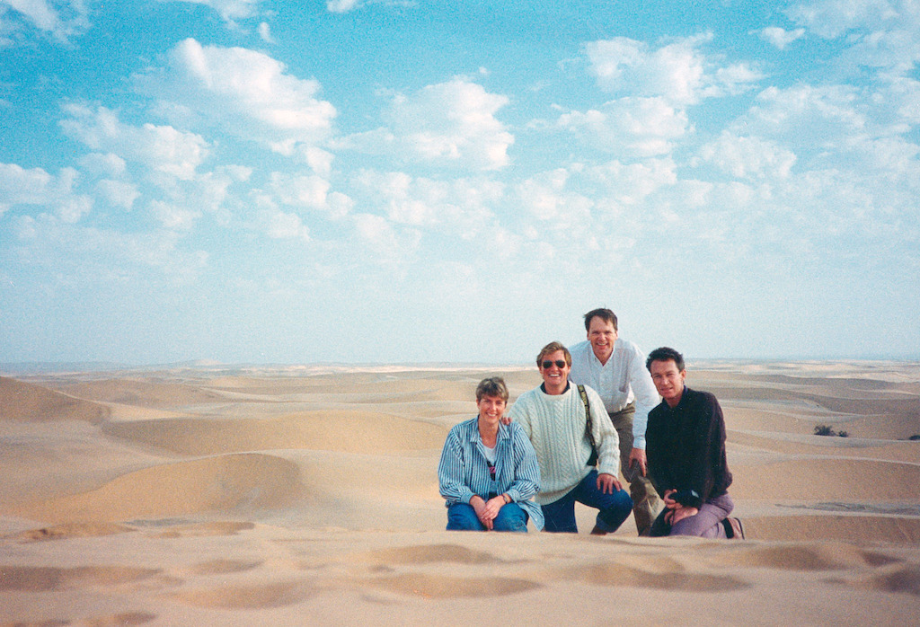 Colvin in Namibia 1989