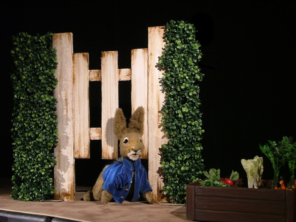 The Tale of Peter Rabbit - Photo courtesy of Thistle Theatre