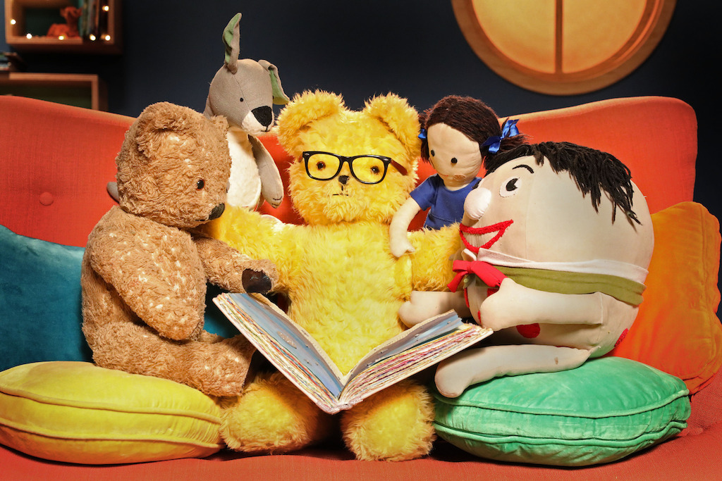 Play School's Story Time - Little Ted, Joey, Big Ted, Jemima and Humpty