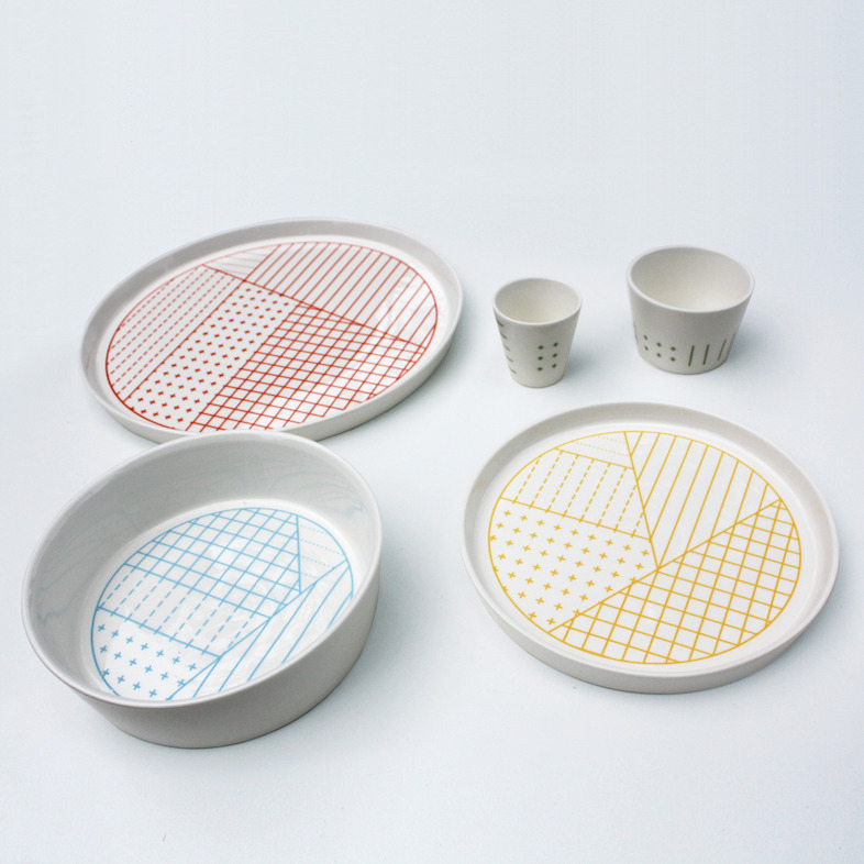 Ratio Dishes. Lies Van Kerckhove, Fragmenture.