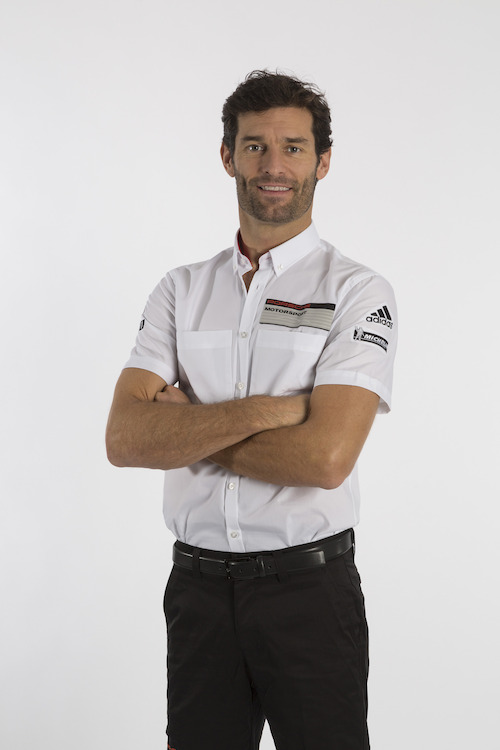 Porsche Team - Driver Mark Webber