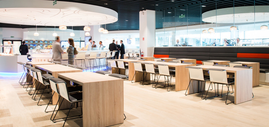 Brussels Airlines lanceert uniek lounge concept in Brussels Airport
