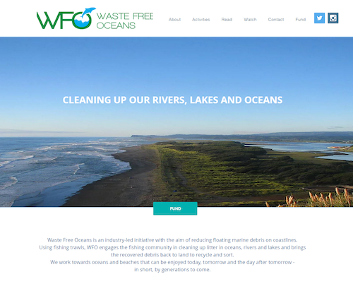 Waste Free Oceans launches new Website