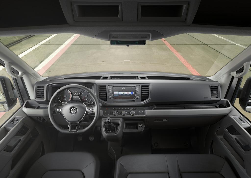 VW Crafter - intérieur