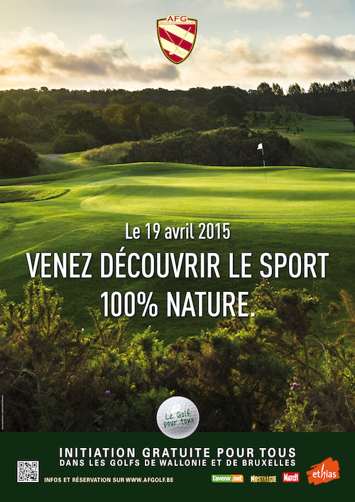 Preview: Initiations gratuites aux plaisirs du golf : l'AFG  propose à tous d'essayer un sport 100% nature